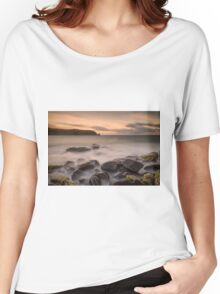 Isle of Muck Sunset Women's Relaxed Fit T-Shirt