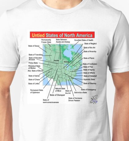 UnTIED States of North America Unisex T-Shirt