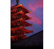 Asakusa Kanon temple, Tokyo Photographic Print