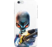 Destroy All Humans: Disintegrator Ray iPhone Case/Skin