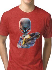 Destroy All Humans: Disintegrator Ray Tri-blend T-Shirt