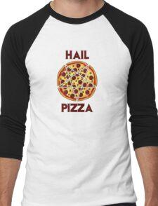 Hail Pizza Men's Baseball ¾ T-Shirt