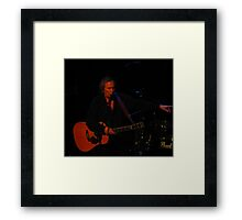 The Legend That Is Don McLean Framed Print