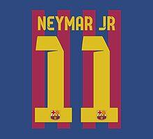 Neymar T-shirt by refreshdesign