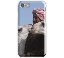Shepherd and Camels iPhone Case/Skin
