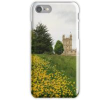 Wildflower meadows lead to Downton abbey iPhone Case/Skin