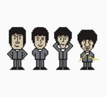 The Pixel Beatles Kids Clothes
