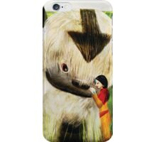 Jinora with Bison iPhone Case/Skin