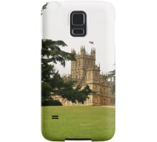 Downton abbey house and grounds Samsung Galaxy Case/Skin