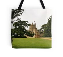 Downton abbey house and grounds Tote Bag
