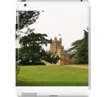 Downton abbey house and grounds iPad Case/Skin