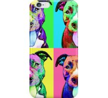 Pit Bull Pop Art iPhone Case/Skin