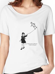 Emily always walked her brother to the park. Women's Relaxed Fit T-Shirt