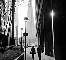 The Shard - London by Steve Churchill
