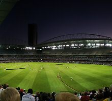 Telstra Dome, Melbourne by Lisa  Kenny