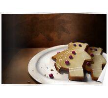 Gingerbear Cookies Poster