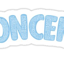 Once Upon a Time - Oncer 2015 - Light Blue Sticker