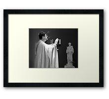 The Baptismal Blessing  Framed Print