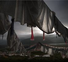 Tibetan Prayer Flags_2786p by jiashu xu