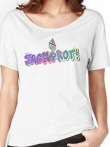 Jackprot! Dr. Steve Brule Casino Design by SmashBam Women's Relaxed Fit T-Shirt