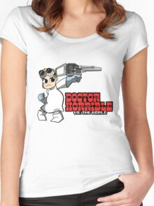 Dr. Horrible vs. The World Women's Fitted Scoop T-Shirt