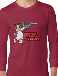 Dr. Horrible vs. The World Long Sleeve T-Shirt