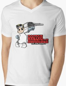 Dr. Horrible vs. The World Mens V-Neck T-Shirt