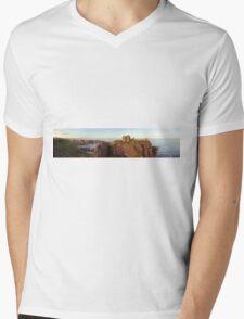 Dunnotter Castle  Mens V-Neck T-Shirt