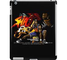 Shaq Fu (Genesis) Title Screen iPad Case/Skin