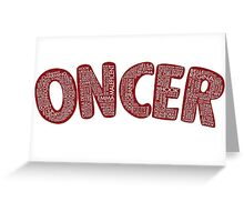 Once Upon a Time - Oncer 2015 - Red Greeting Card