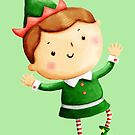 Cute Christmas Elf by colonelle