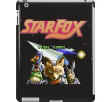 Star Fox (SNES) Title Screen iPad Case/Skin