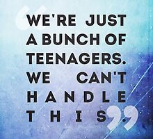 we're just a bunch of teenagers by Li J Cheung