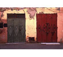 Double Door Photographic Print