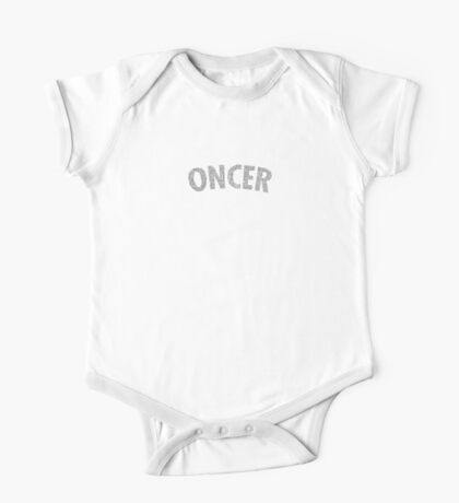Once Upon a Time - Oncer 2015 - White One Piece - Short Sleeve