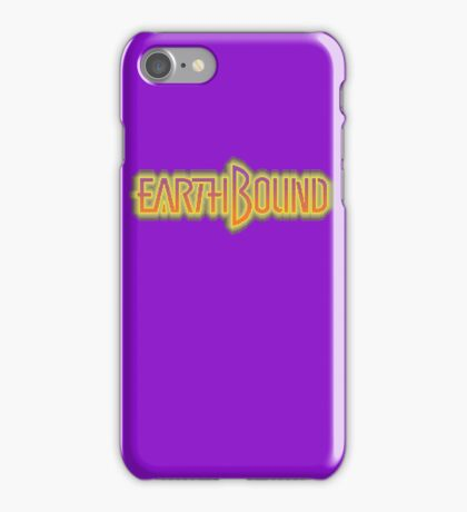 Earthbound (Snes) Title Screen iPhone Case/Skin