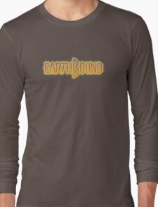 Earthbound (Snes) Title Screen Long Sleeve T-Shirt