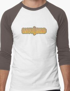 Earthbound (Snes) Title Screen Men's Baseball ¾ T-Shirt