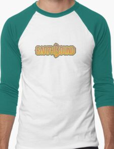 Earthbound (Snes) Title Screen Men's Baseball ¾ T-Shirt