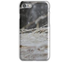Snow is Falling iPhone Case/Skin