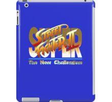 Street Fighter II (Snes) title Screen iPad Case/Skin