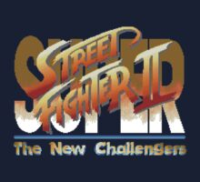 Street Fighter II (Snes) title Screen by AvalancheShirts