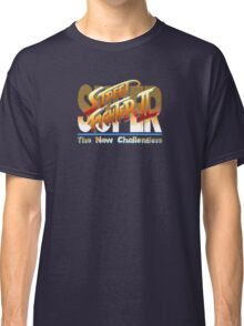 Street Fighter II (Snes) title Screen Classic T-Shirt