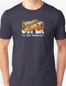 Street Fighter II (Snes) title Screen T-Shirt