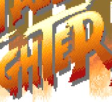 Street Fighter II (Snes) title Screen Sticker