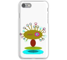 COLLECTABLE KIDS ART, POLLY DOLLOPS olive iPhone Case/Skin