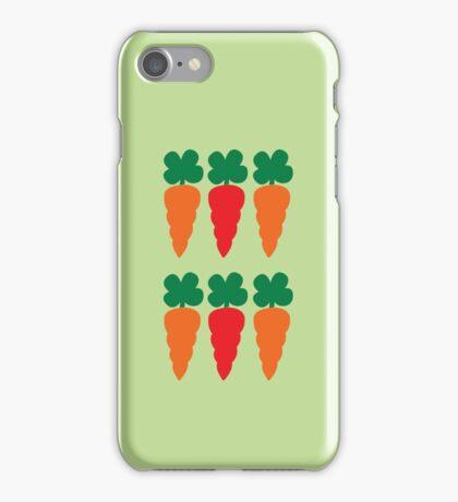 six Carrots cute! iPhone Case/Skin