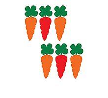 six Carrots cute! Photographic Print