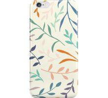 Flowing leaves iPhone Case/Skin