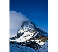 Clouds on The Matterhorn 2 Photographic Print